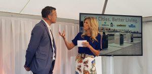 Kim Kötter presenteert onthulling nieuwe bedrijfsnaam WasteVision
